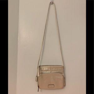 Clarks silver handbag
